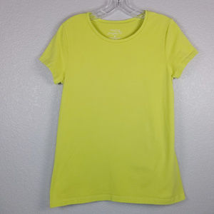Sonoma Everyday tee yellow solid color